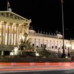 Vienna-Austrian-Parliment-Lights