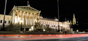 Vienna-Austrian-Parliment-Lights