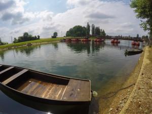 Karlovac-croatia-lake-boat