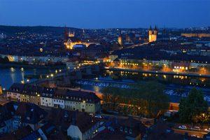 wuerzburg-germany-night-view