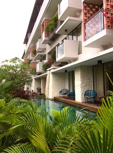 deluxe rooms inaya putri Bali