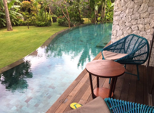 private pool at inaya purti bali