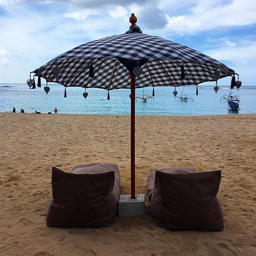 white sand beach INAYA PUTRI BALI